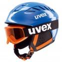 Casque de Ski Uvex Junior Set + masque blue