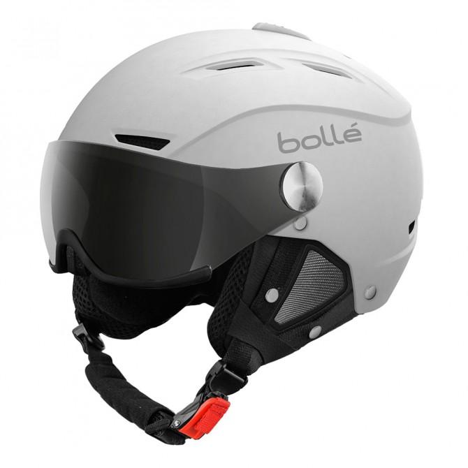Ski helmet Bollé Backline Visor white-silver