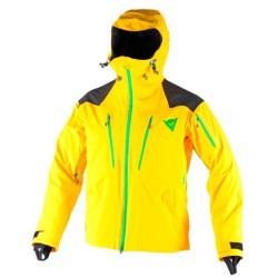 Giacca sci Dainese Proteo D-Dry giallo-nero-verde