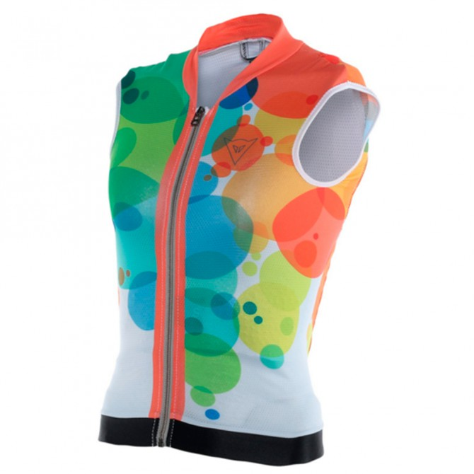 Protège-dos souple Dainese Waistcoat soft flex Junior fantaisie