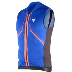 Gilet con protezioni Dainese Waistcoat soft flex Uomo blu-nero