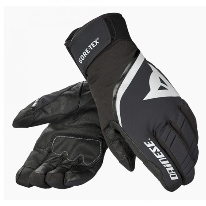 Ski gloves Dainese Carved Line Gtx black-white