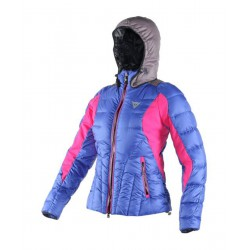 Ski down jacket Dainese Euporia royal-fuchsia-grey