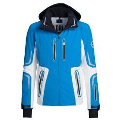 Veste ski Bogner Sean-T Homme bleu-blanc