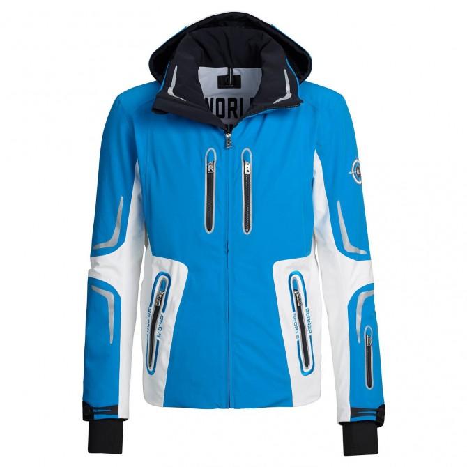 Ski jacket Bogner Sean-T Man blue-white