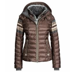 Veste ski Bogner Bogner Winona-D Femme brun-rose-argent