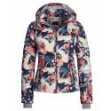 Ski jacket Bogner Mabel-D Woman blue-orange-white
