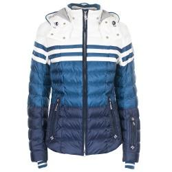 Giacca sci Bogner Tea-D Donna blu-bianco