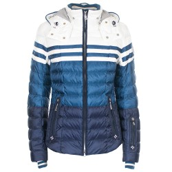 Ski jacket Bogner Tea-D Woman blue-white