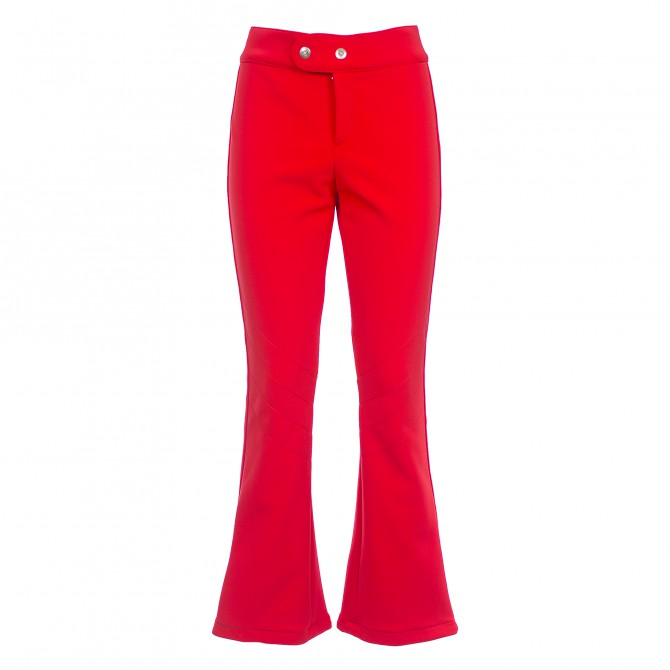 Pantalon ski Bogner Emilia Femme rouge