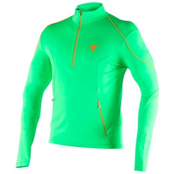 Dainese Fleece Small Zip E1 green-orange