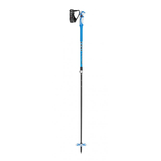 Palos de esqui Leki Bird Vario speed-lock 2 azul-antracita