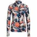 First layer Bogner Marna Woman blu-orange-white