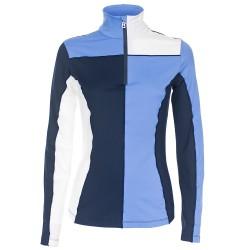 Sottotuta Bogner Scenic Donna lavanda-blu-bianco