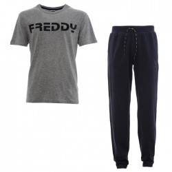 pantalon en jersey + t-shirt Freddy METRO3TS homme