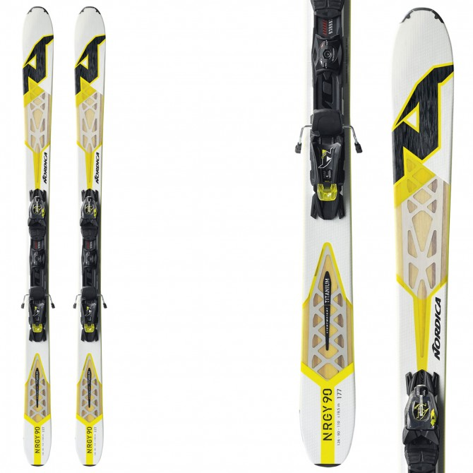 Ski Nordica Nrgy 90 Evo + bindings N Adv Pr Evo Wb 90