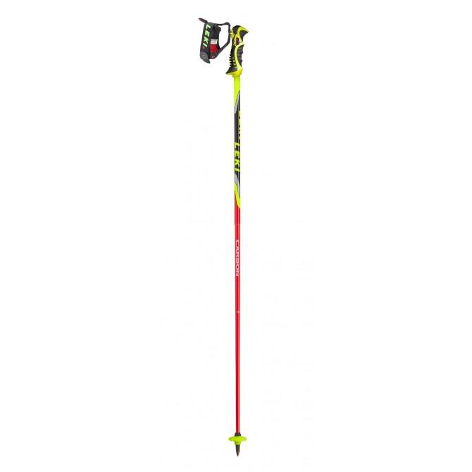 Bâtons de ski Leki Venom SL Tr-S rouge-jaune-noir