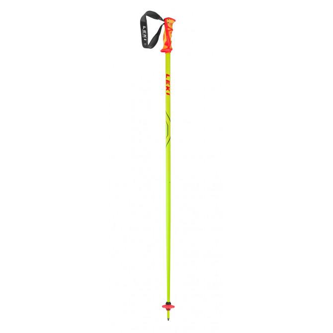 Batons de ski Leki Thunderbolt jaune
