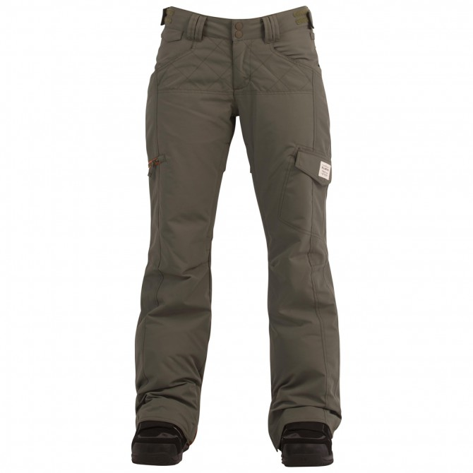 Pantalone snow Billabong Daft Donna verde militare