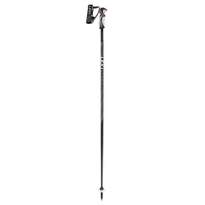 Bâton de ski Leki Carbon D noir-anthracite-blanc