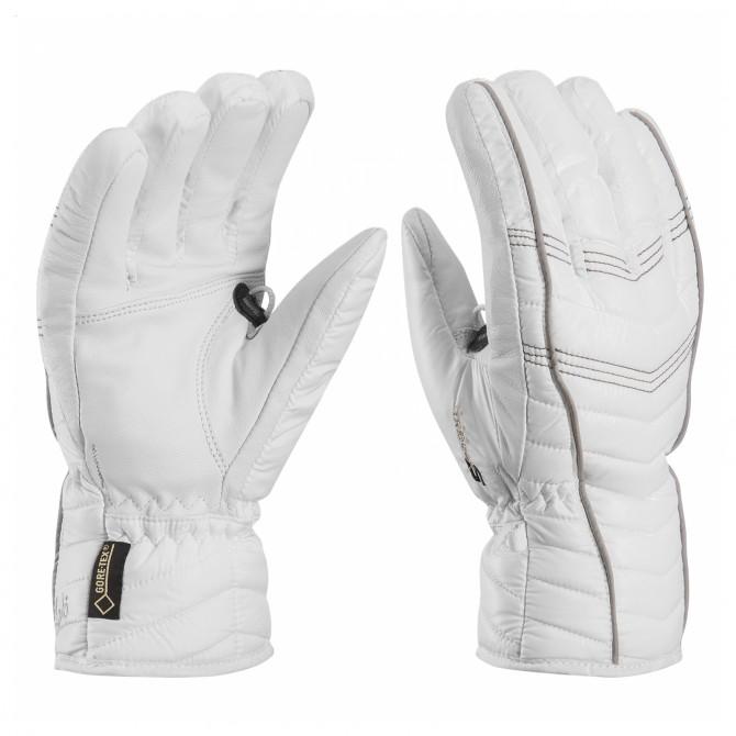 Gants de ski Leki Cortina S Gtx blanch-gris