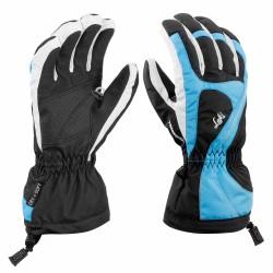 Ski gloves Leki Falera S Girl black-turqoise-white