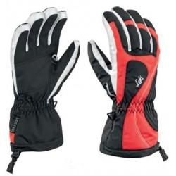 Gants de ski Leki Falera S Girl noir-rouge-blanch