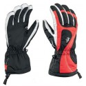 Ski gloves Leki Falera S Girl black-red-white