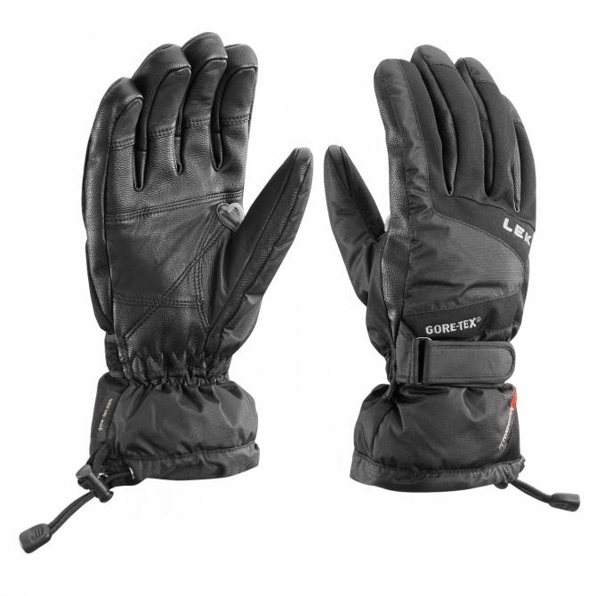Ski gloves Leki Scale S black