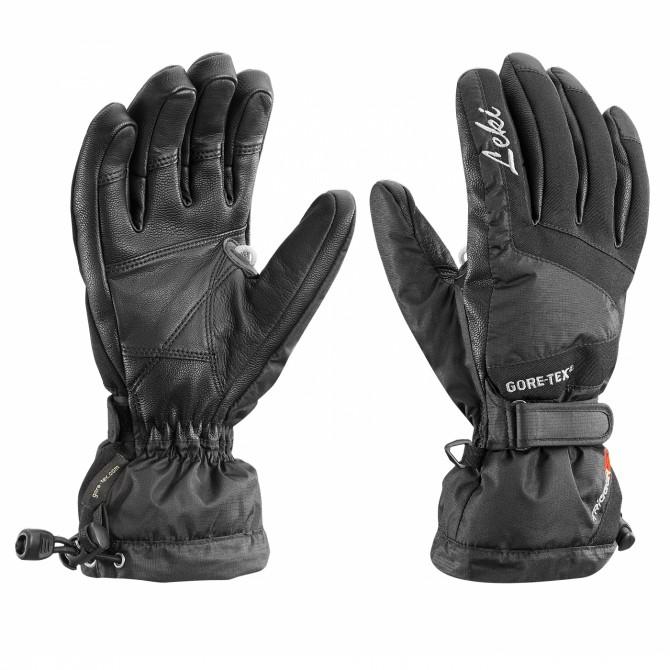 Ski gloves Leki Scale S Lady black