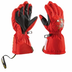 Ski gloves Leki Pilot Baby red