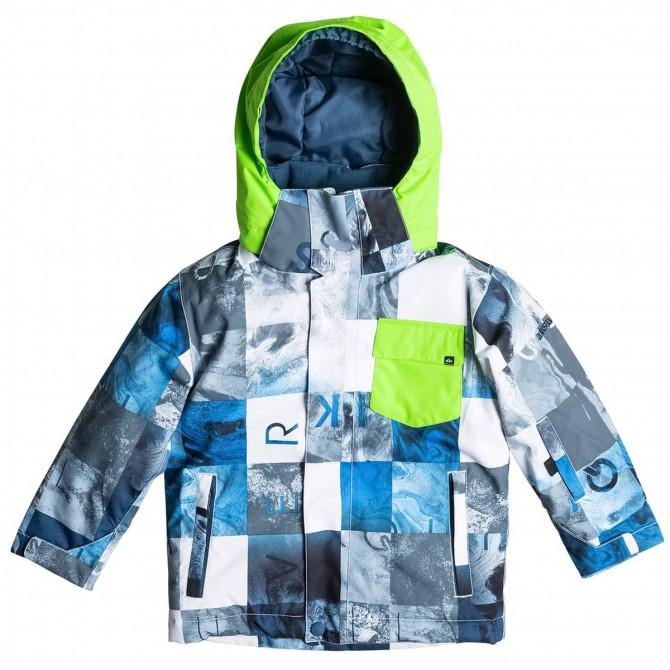 Chaqueta snowboard Quiksilver Little Mission Junior