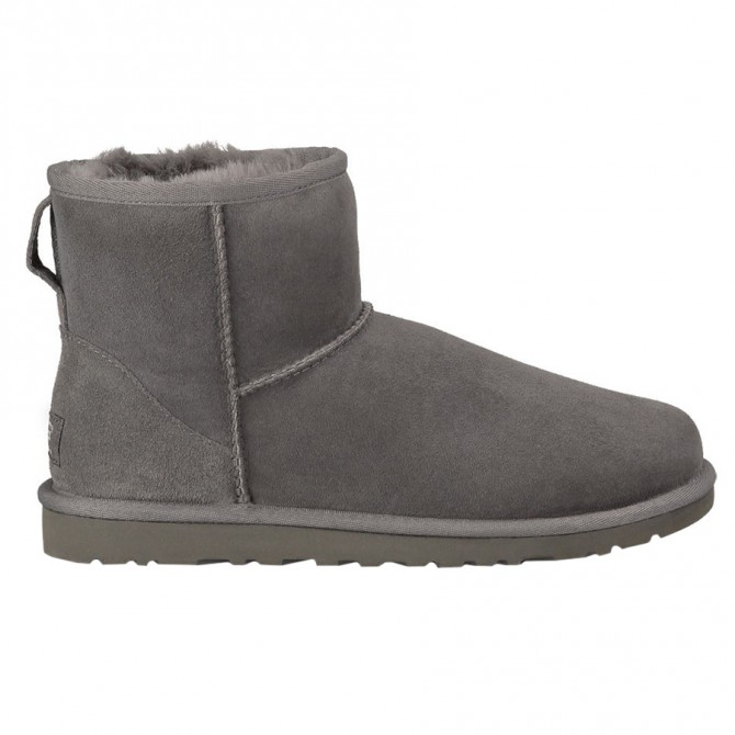 Boots Ugg Classic Mini Woman grey