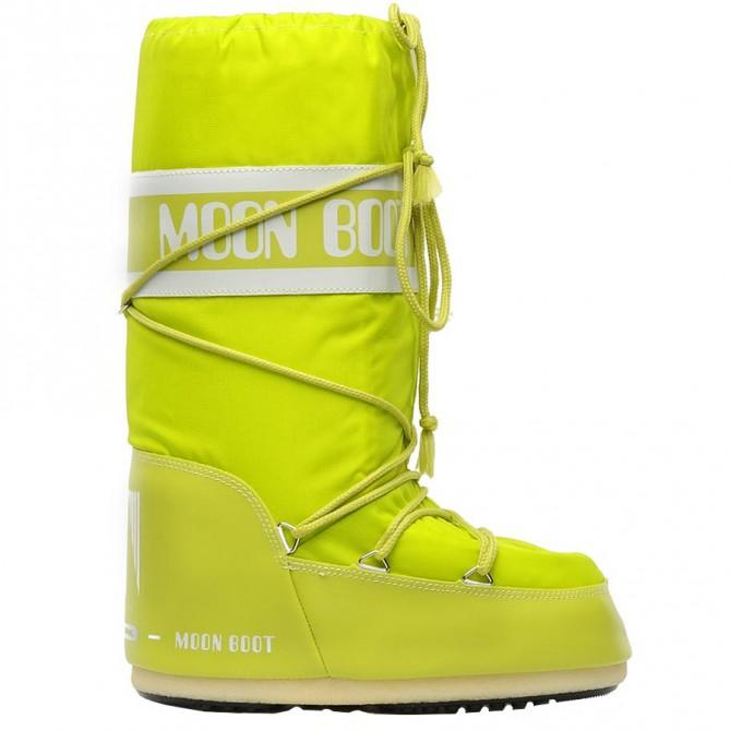 Après-ski Moon Boot Nylon lime