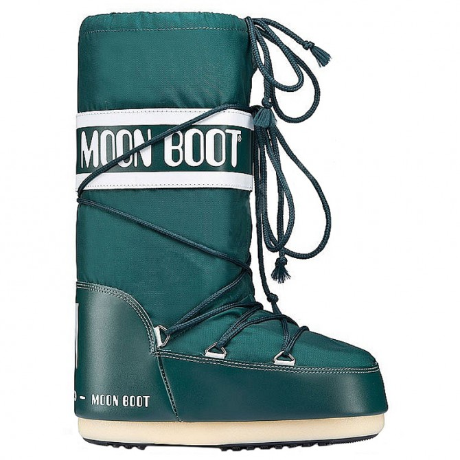 Après-ski Moon Boot Nylon teal
