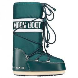 Doposci Moon Boot Nylon Uomo verde petrolio