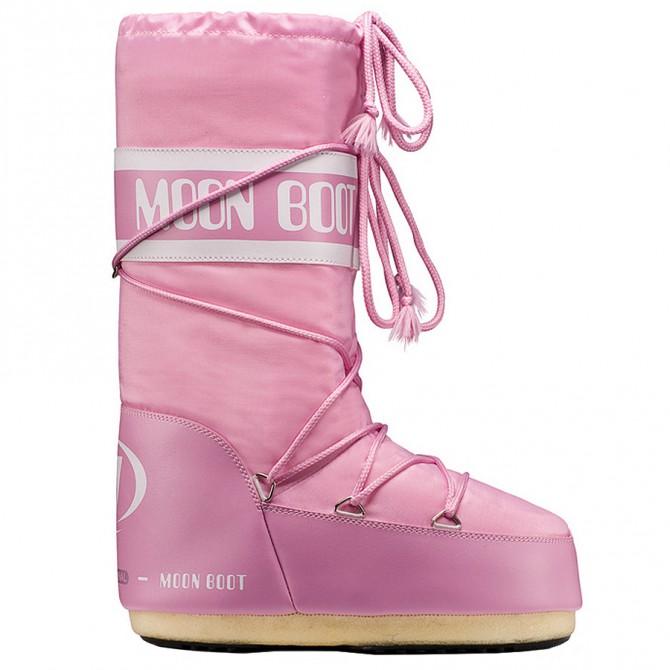 Après-ski Moon Boot Nylon Woman pink