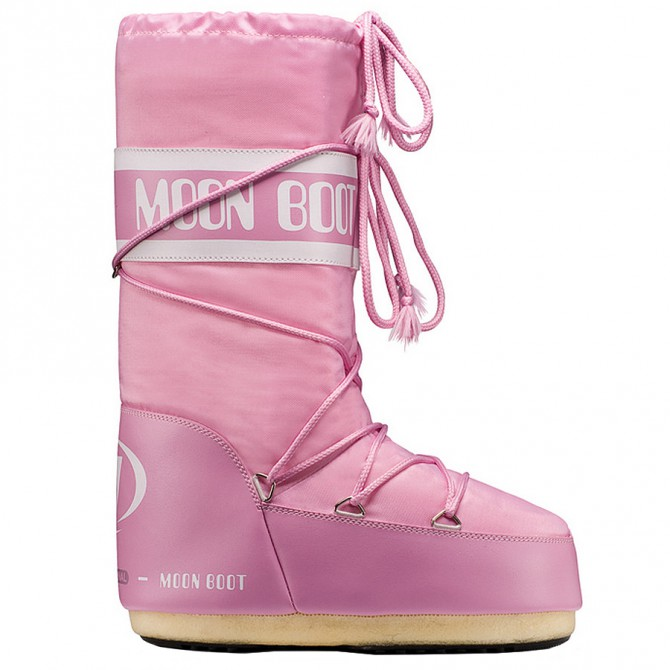 Doposci Moon Boot Nylon Donna rosa MOON BOOT Doposci donna