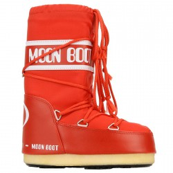 Après-ski Moon Boot Nylon rojo