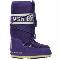 Après-ski Moon Boot Nylon Woman purple