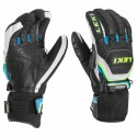 Gloves ski Worldcup Race Coach Flex S GTX black-white-royal-yellow