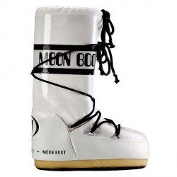 Après-ski Moon Boot Vinil Woman white-black