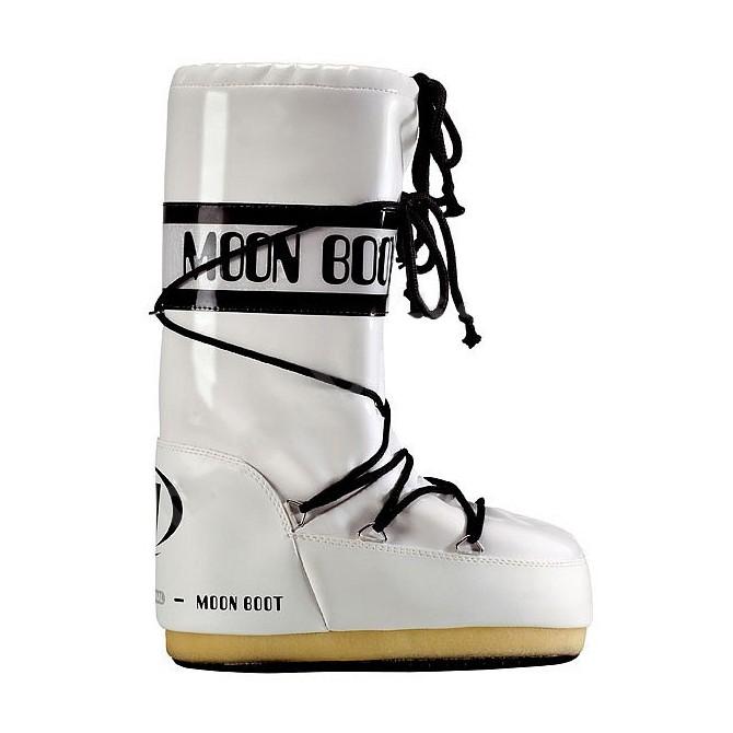 Après-ski Moon Boot Vinil Woman white-black