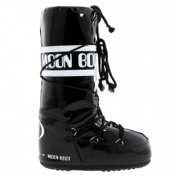 Après-ski Moon Boot Vinil Femme noir-blanc