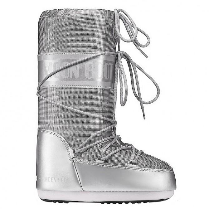 Après-ski Moon Boot Pixie Mujer plata
