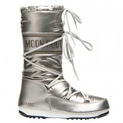 Après-ski Moon Boot W.E. Soft Met Femme argent