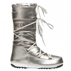 Après-ski Moon Boot W.E. Soft Met Woman silver