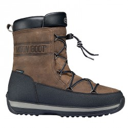 Doposci Moon Boot Lem Leather Uomo marrone-nero