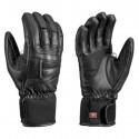 Ski gloves Leki Griffin S Lady woman black