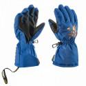 Guantes de esquí Leki Pilot Junior azul-royal